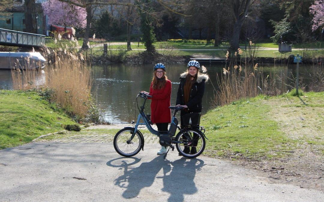 Umweltfreundlich mit dem E‑Bike unterwegs