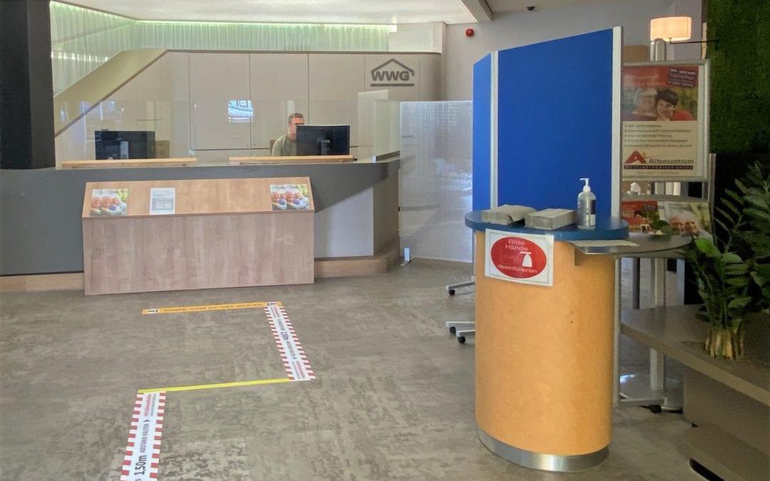 Öffnung der Geschäftstelle am 07. Mai für Neukunden!