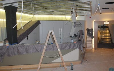 Renovierung während des Lockdowns
